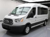 2016 Ford Transit with 3.7L V6 Engine,15-Passenger