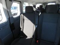 Fuel efficient passenger van. When riding this van, the