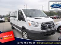Grand and graceful, this 2016 Ford Transit Wagon