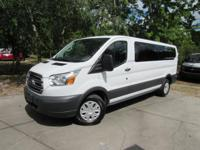 This 2016 Ford Transit Wagon 3dr T-350 148 Med Roof XLT