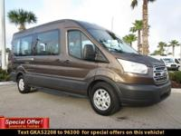 Feel at ease with this dependable 2016 Ford Transit