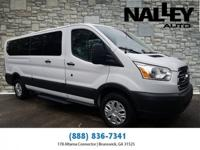 White 2016 Ford Transit-350 RWD 6-Speed Automatic with