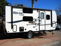This 3200 lb Camping Trailer is brand new. We have had