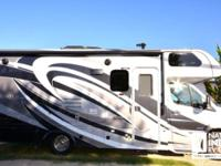 This 24 ft. motorhome has tons of room inside, loaded