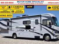 The all new FR3 is a crossover Class A motor home with