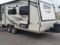: 2016 Forest River Rockwood Roo 19 with Sapphire