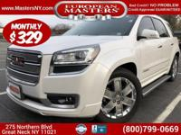 This Amazing White 2016 GMC Acadia Denali XL AWD Sport