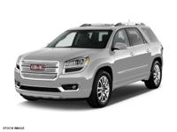 New Arrival! THIS ACADIA IS CERTIFIED! NAVIGATION