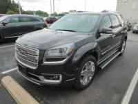 Come see this 2016 GMC Acadia Denali. Its Automatic