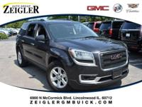 Recent Arrival! Mineral 2016 GMC Acadia SLE-1 AWD.