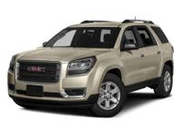 2016 GMC Acadia SLE-1 White Recent Arrival! Priced