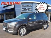 New Price! CARFAX One-Owner. 2016 GMC Acadia SLE-1 FWD
