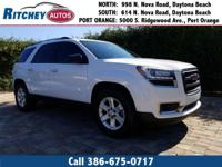 CERTIFIED PRE OWNED 2016 GMC ACADIA SLE 2WD**CLEAN CAR