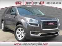 Certified. Alloy Wheels, Towing Package/ Hitch, Acadia
