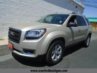 Come see this 2016 GMC Acadia SLE. Its Automatic