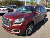 Crimson Red 2016 GMC Acadia SLT-1 FWD 6-Speed Automatic