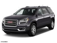 Options:  2016 Gmc Acadia Slt-1|Slt-1 4Dr Suv|3.6L|6