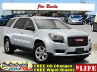 This 2016 GMC Acadia SLT is a 100% Carfax Guarantee