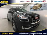 Options:  2016 Gmc Acadia Slt-2|Gray|Recent Arrival!