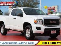 From city streets to back roads this 2016 GMC Canyon