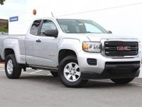 2016 GMC Canyon Extended Cab SLE!!! 1-Owner,
