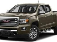 2016 GMC CANYON SLT four wheel-drive 128WB, This
