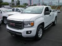 Summit White 2016 GMC Canyon SL RWD 6-Speed Manual 2.5L