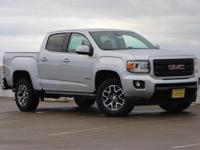 Certified. Quicksilver Metallic 2016 GMC Canyon SLE1
