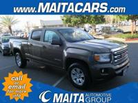 Options:  2016 Gmc Canyon 2Wd Sle|Brown/|V6 3.6L