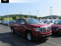 2016 GMC Canyon SLE1 Williamsport area. REMAINDER OF