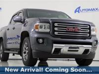 2016 GMC Canyon SLE1 in Cyber Gray Metallic, 4WD, This