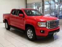 GMC CANYON CREW CAB SLE, LOW MILES, 4-Way Power Front