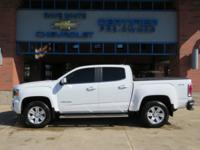 2016 GMC Canyon Summit White SLE1 4WD 3.6L V6 DGI DOHC