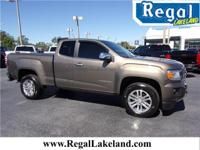 Bronze 2016 GMC Canyon SLT RWD 6-Speed Automatic 3.6L