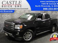 Clean CARFAX. 2016 GMC Certified. Canyon SLT Black 4WD