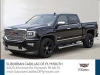 CARFAX One-Owner. Onyx Black 2016 GMC Sierra 1500