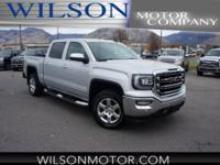 CARFAX One-Owner. Clean CARFAX. Silver 2016 GMC Sierra
