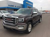 Brown 2016 GMC Sierra 1500 SLT 4WD Automatic EcoTec3