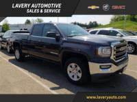 2016 GMC Sierra 1500 SLE in Iridium Metallic, One-Owner