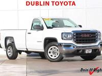 Dublin Toyota is pleased to offer this 2016 GMC Sierra