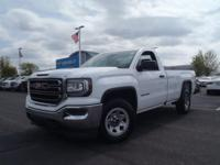 New Price! CARFAX One-Owner. White 2016 GMC Sierra 1500