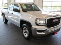 Options:  2016 Gmc Sierra 1500 Base|Silver|**Carfax 1