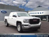Summit White 2016 GMC Sierra 1500 4WD 6-Speed Automatic