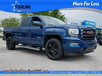 2016 GMC Sierra 1500, ONE OWNER, CLEAN CARFAX, 20 ALLOY