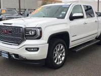CARFAX One-Owner. Clean CARFAX. White Frost 2016 GMC