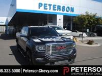Step up to luxury and power with our 2016 GMC Sierra