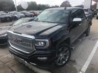 2016 GMC Sierra 1500 Denali Navigation, Sunroof &