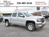Options:  2016 Gmc Sierra 1500 Sle|Silver/|V6 4.3L