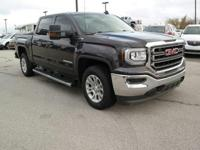 The GMC Sierra 1500 possesses chiseled features and