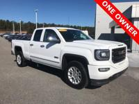 CARFAX One-Owner. Clean CARFAX. Summit White 2016 GMC